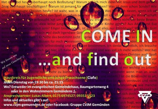 CVJM Gemünden - Come in and find out